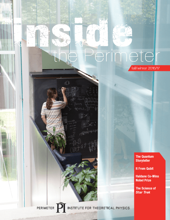 Inside the Perimeter cover, Fall/Winter 2016