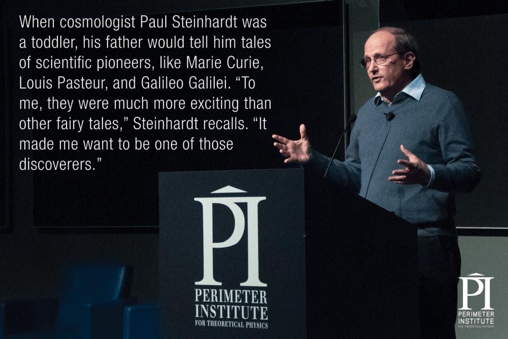 Paul Steinhardt Slice of PI