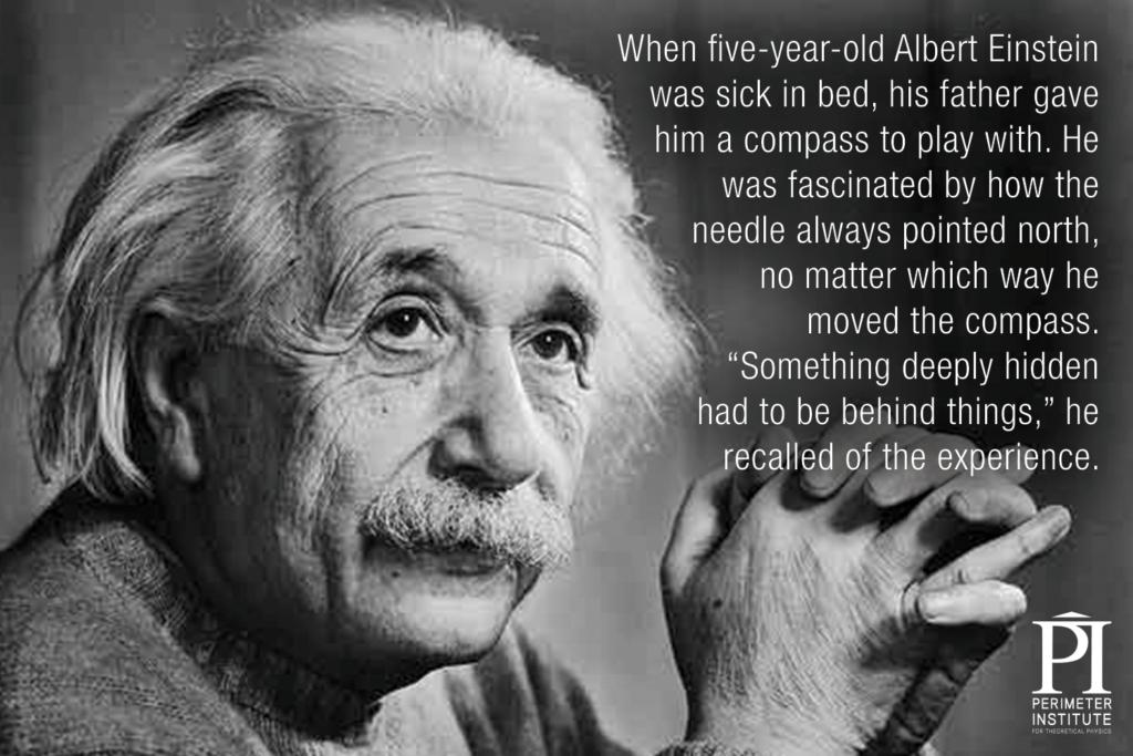 Albert Einstein Slice of PI