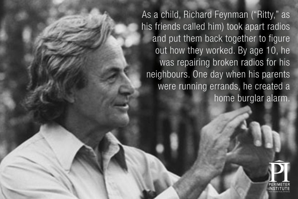 Richard Feynman Slice of PI