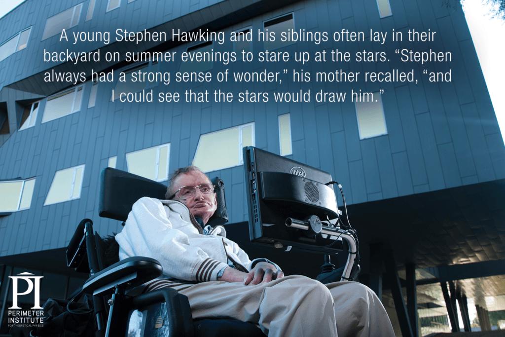 Stephen Hawking Slice of PI