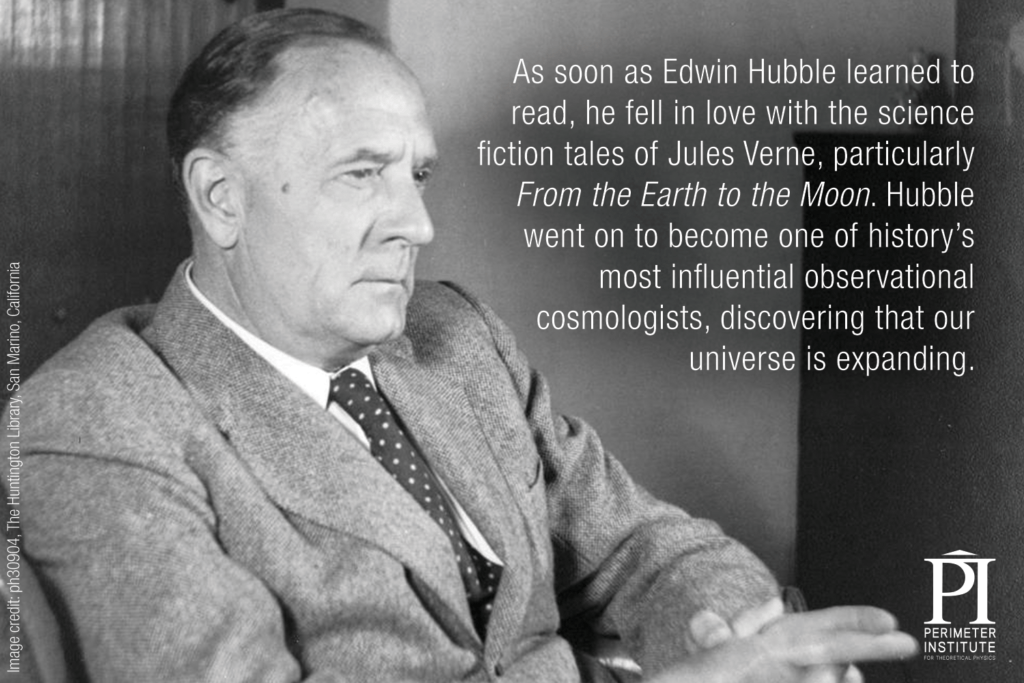 Edwin Hubble Slice of PI