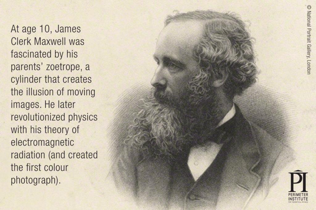 James Clerk Maxwell Slice of PI