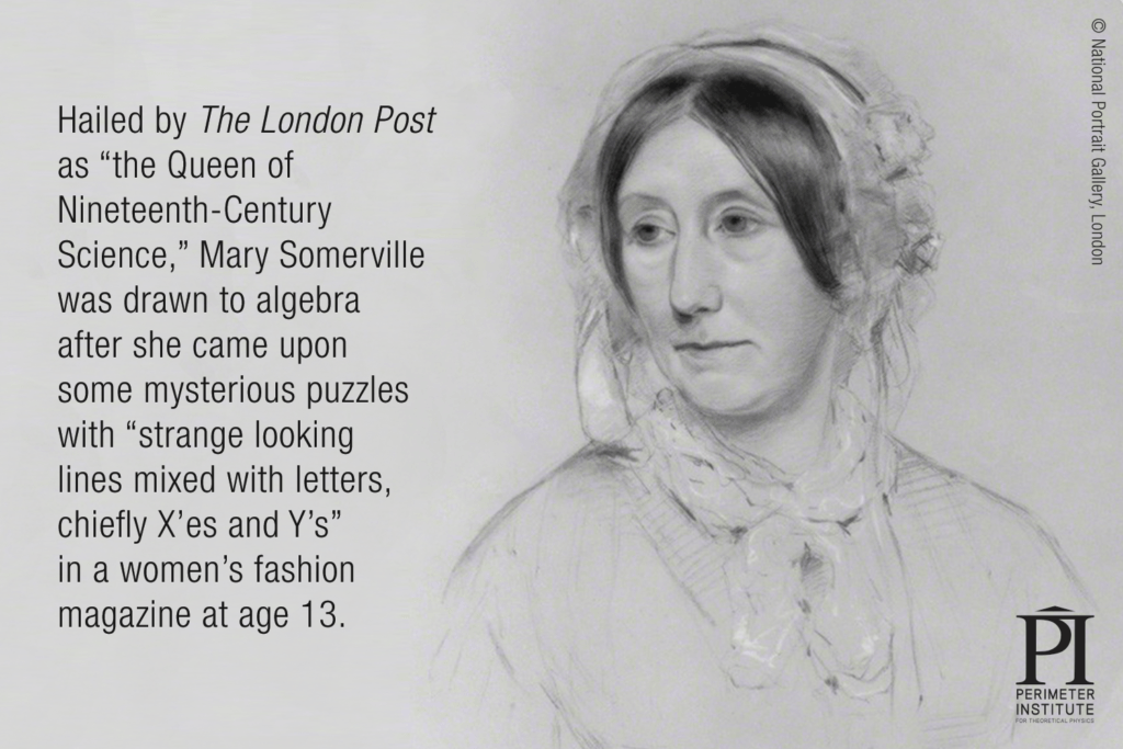Mary Somerville — Tranche d'IP