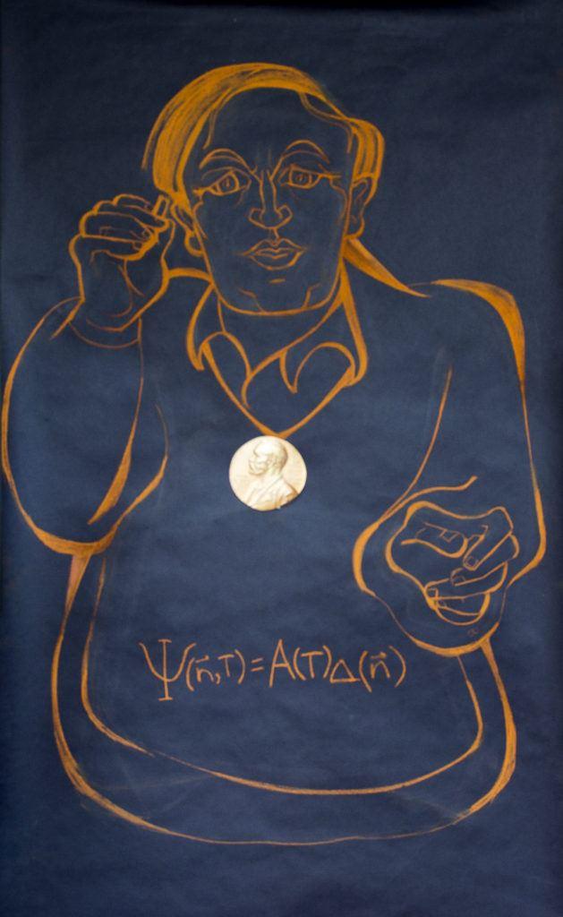 Portrait d'Anthony Leggett