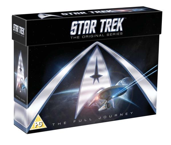 Coffret de DVD de Star Trek