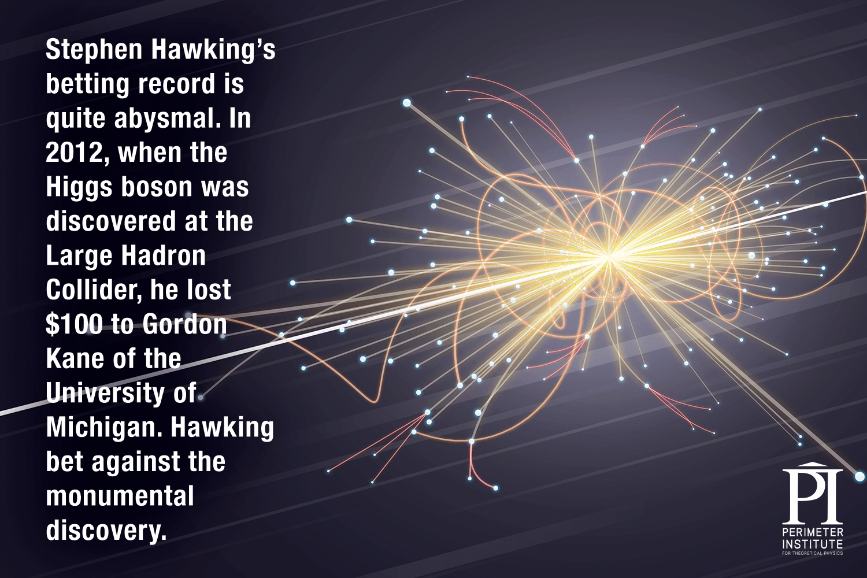 Hawking wager