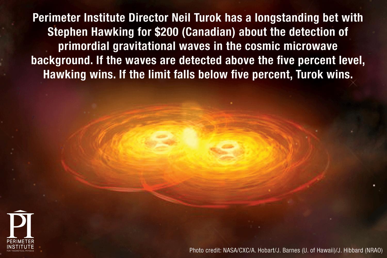 Hawking Turok Wager