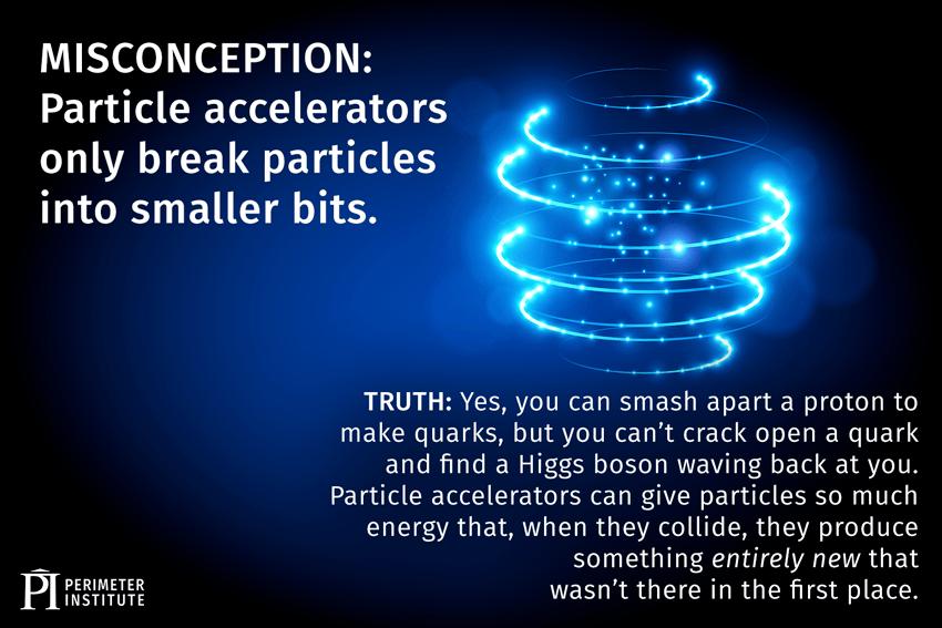 Mythe de l'accélérateur de particules