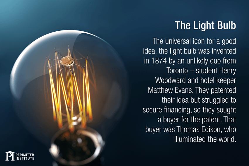 Inventeurs de la lampe à incandescence