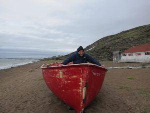 Raymond Laflamme à Iqaluit