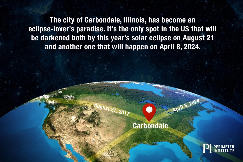 carbondale solar eclipse