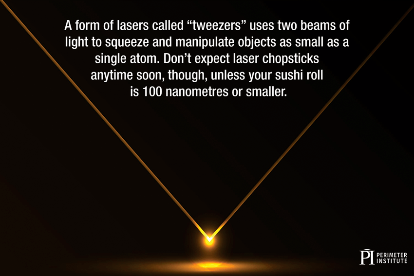 tweezers lasers