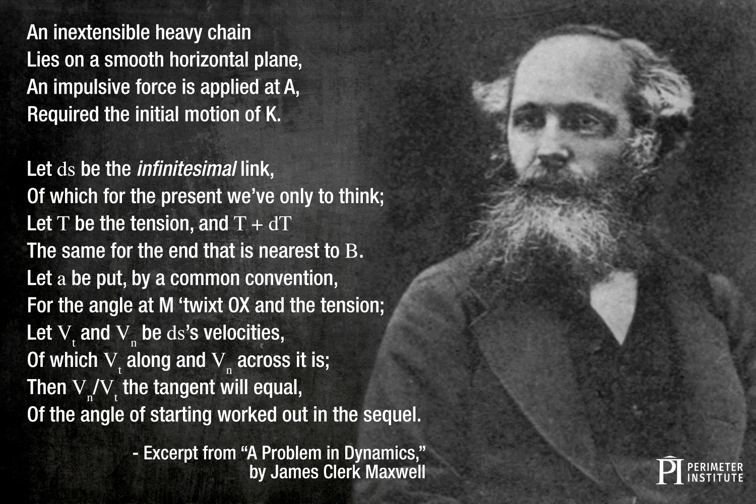 james clerk maxwell poem