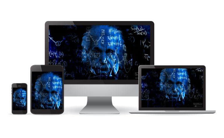 Different devices with Einstein and equation background