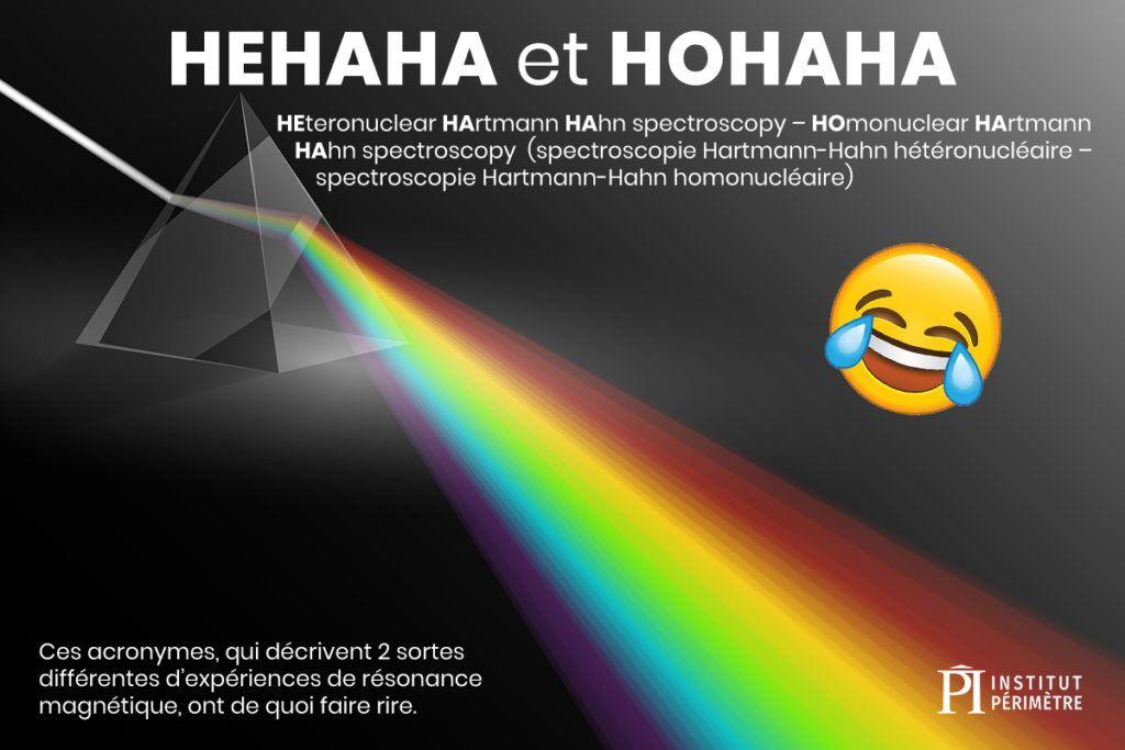 Lumière voyageant à travers le prisme montrant un arc-en-ciel avec un emoji qui rit