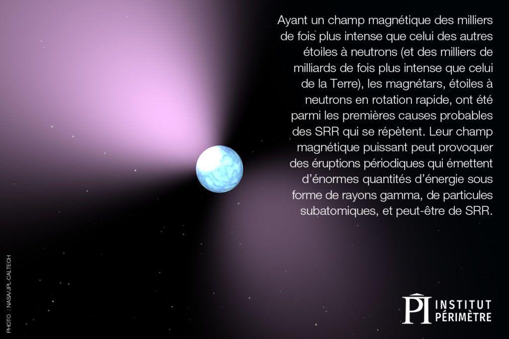 Flou étoile ronde avec une lueur violette dans l'espace