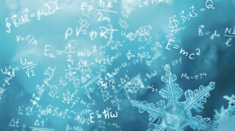 equations snow