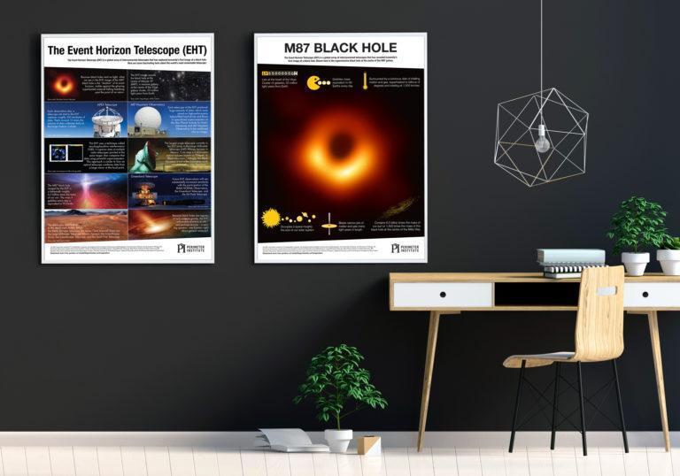 affiches sur les trous noirs
