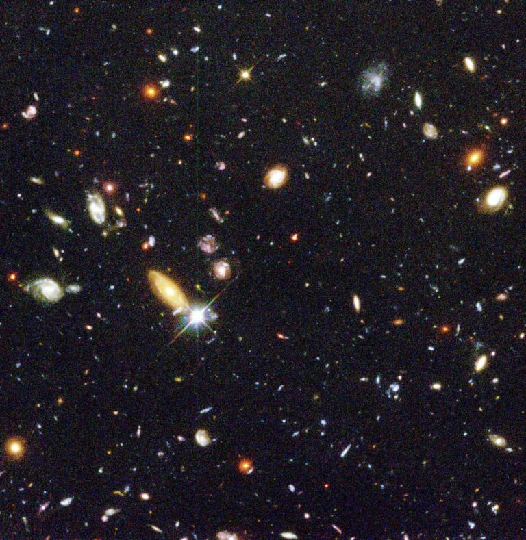 Galaxies in outer space