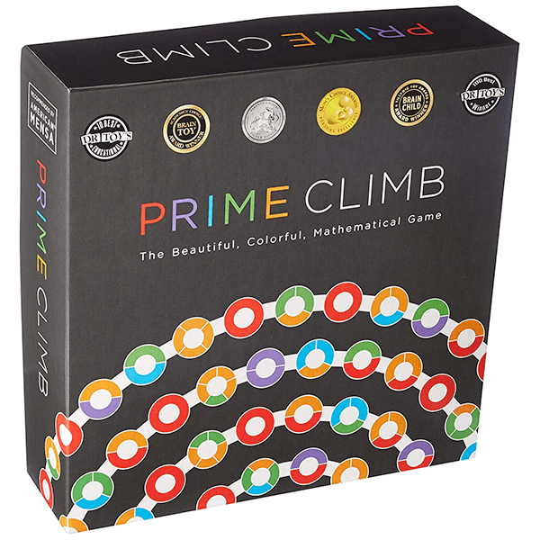 photo of the box for the game Prime Climb