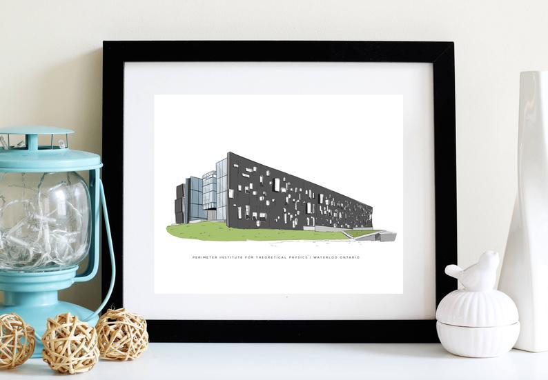 Illustration of Perimeter Institute