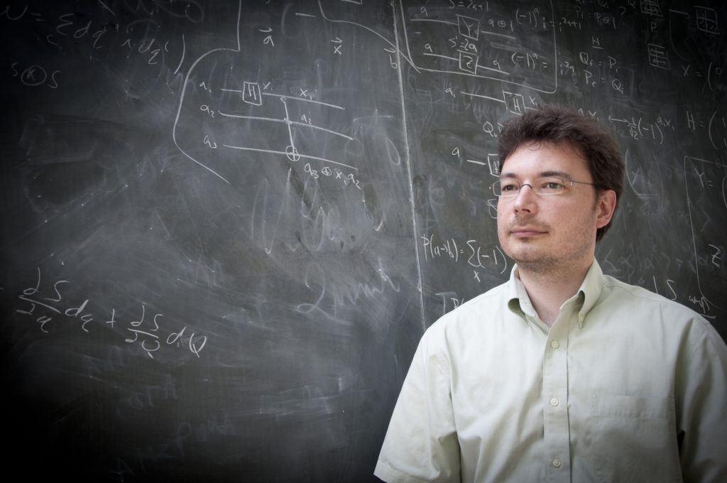 Erik Schnetter, chef du groupe de technologie de la recherche à l'Institut Périmètre