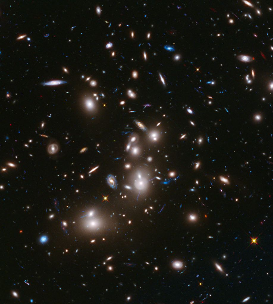 Abell 2744 galaxy cluster
