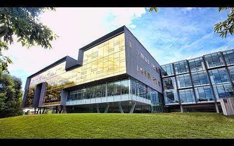 A photo of the exterior of Perimeter Institute