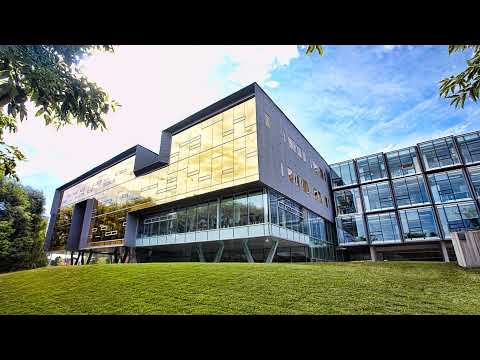 A photo of the exterior of Perimeter Institute