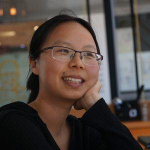 Yìlè Yīng, étudiante à la maîtrise dans le programme PSI