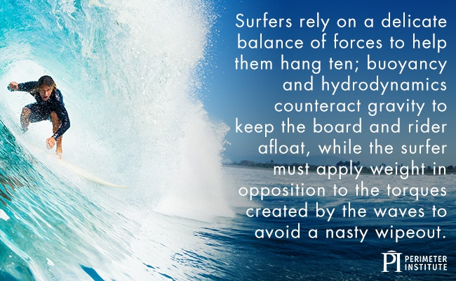 Man on a surf board riding in the middle of a wave