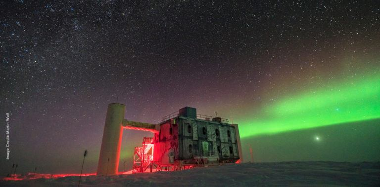 Nighttime views of observatory in the